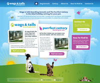 Wags & Tails Website